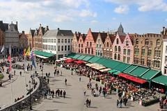 Markt (Brian Aslak) Tags: brugge brujas bruges westvlaanderen vlaanderen flanders flandre belgië belgium belgique europe markt grotemarkt