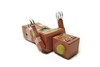 407595_2795890947876_948618072_n (Nara Images) Tags: toy robot tin vintage ernestthebear desaturate macro