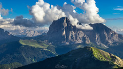 Langkofel (3181m) (F!o) Tags: langkofel dolomiten dolomitici alpen alps mountains berge summit wolken clouds photography landschaft italien italy fotografie aussicht panorama sky himmel