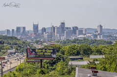 Nashville, Tennessee Skyline (Michael Davis Photography) Tags: nashville nashvilletennessee skyline skyscraper highrise office tower condo nashvilleskyline sobro downtownnashville interstate tennesseecity city cityskyline cityscape outdoor travel