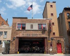FDNY Firehouse Engine 214 and Ladder 111, Bedford, Brooklyn, New York City (jag9889) Tags: 2017 20170615 architecture bedstuy bedford bedfordstuyvesant bravest brooklyn building e214 engine214 fdny firedepartment firedepartmentofthecityofnewyork firehouse firestation firefighter firstresponder hancockstreet house kingscounty ladder111 ny nyc newyork newyorkcity newyorkcityfiredepartment newyorksbravest nuthouse outdoor ridgewood usa unitedstates unitedstatesofamerica jag9889 us