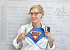 SuperNerd (YetAnotherLisa) Tags: superman nerd geek self selfportrait selfie superhero math trig trigonometry hp15c calculater supernerd supergeek