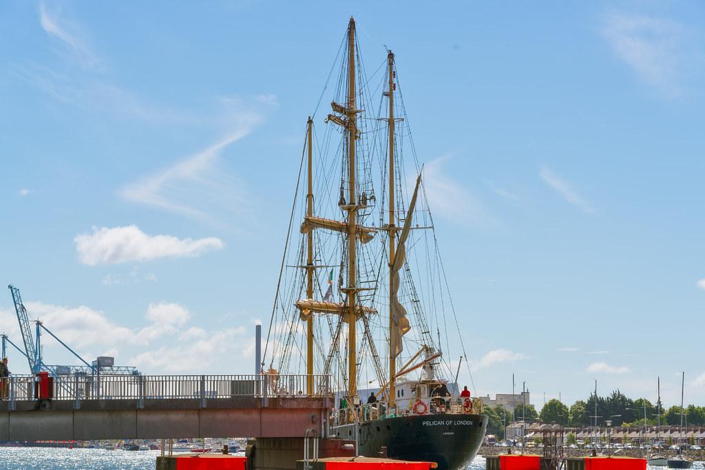 PELICAN OF LONDON [TALL SHIPS LEAVING DUBLIN PORT TUESDAY JUNE 6 2017]-129396
