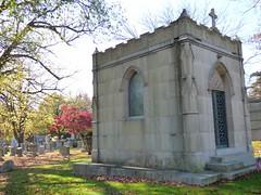 George M. Cohan (amiterangi1) Tags: woodlawncemetery autumn cemetery woodlawn georgemcohan