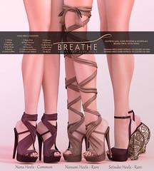 [BREATHE]-Nana,Nanami & Setsuko ([Breathe]) Tags: breathe secondlife mesh heels theepiphany