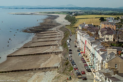 Criccieth Castle view, looking west (bhoyracer1) Tags: wales houses hills mountains beach outdoor landscape hill mountain cymru sea promenade beautiful seaside holiday summer canon ef70200mm criccieth llyn cardigan groynes colours terrace marineterrace