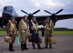 'Crew Photo' (andrew_@oxford) Tags: raf east kirkby bomber command royal air force 1940s lincolnshire aviation heritage centre reenactors reenactment timeline events