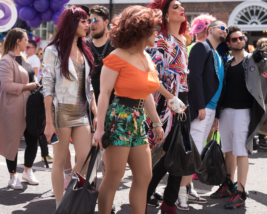 LGBTQ+ PRIDE PARADE 2017 [STEPHENS GREEN BEFORE THE ACTUAL PARADE]-129928