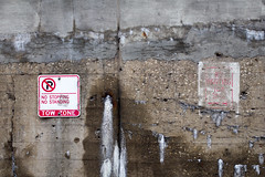 No nothing (dharder9475) Tags: 2017 cement faded merchandisemart outside privpublic sign wall weathered