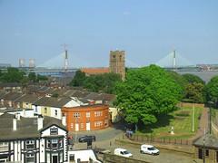 DSCF0668E Mersey Gateway Bridge (Anand Leo) Tags: silverjubileebridge runcorn widnes rivermersey