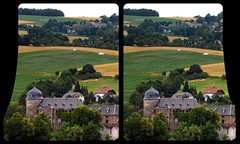 Burg Mylau 3-D / CrossView / Stereoscopy