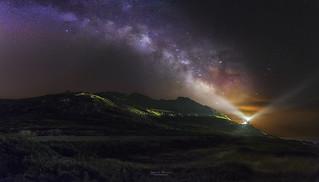 La luz de la galaxia
