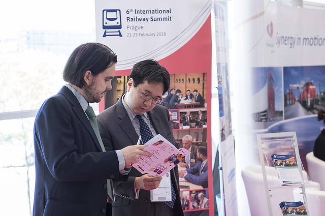 International Railway Summit stand