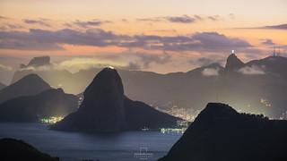 Sunset @Parque da Cidade, Niterói, Rio de Janeiro, Brazil