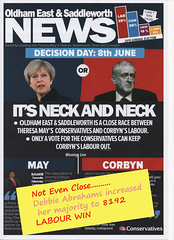 election-lreafletmod (terrysaddleworth) Tags: election leaflet tory hopes dashed