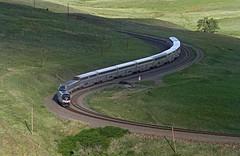 Late Zephyr at Rocky (Moffat Road) Tags: amtrak no5 5 californiazephyr heritage 145 phaseiiiheritage rocky colorado formerriogrande upmoffattunnelsub passengertrain railroad locomotive co