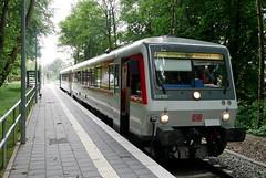 P1210584 (Lumixfan68) Tags: eisenbahn züge triebwagen baureihe 628 dieseltriebwagen vt syltshuttle plus deutsche bahn db regio hein schönberg kieler woche verkehr sonderzüge
