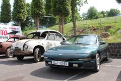 Ford Probe, Tatra T600 (MilanWH) Tags: autovrakoviště scrapyard czech rust épave tatra t600 ford probe