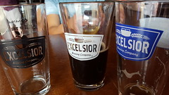 Excelsiors (Mamluke) Tags: excelsiorbrewingcompany excelsior brewing brewery pub glasses drink beer alcohol drinks glass pint pints logo empty half mamluke excelsiorminnesota minnesota