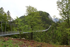 Highline179. Suspension Bridge B179, Reutte, Austria. (elsa11) Tags: highline179 hängebrücke hangbrug suspensionbridge reutte tirol tyrol austria österreich oostenrijk fortclaudia ruineehrenberg highline