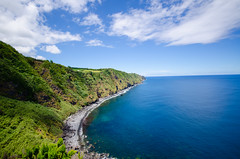 Green and Blue (superherb) Tags: azores saomiguel nordeste portugal d7000 1020 landscape island scenery ocean blue green
