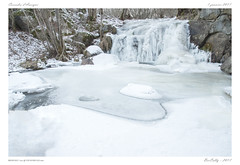 Cascade Aydat (BerColly) Tags: franscade waterfall winter hiver glace ice bercolly google flickrce auvergne puydedome aydat ca