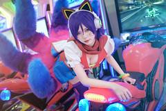 NYAA6790 (Nyaa Photograhy) Tags: lol league legend cosplay ahri arcade fujifilm
