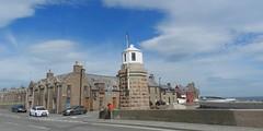 Stevenson's Lighthouse, Peterhead Harbour, Peterhead, Aberdenshire, June 2017 (allanmaciver) Tags: thomas stevenson lighthouse peterhead harbour north eas scotland smart neat weather blue skies clouds location aberdeenshire allanmaciver 1848