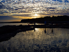 Rock Pool Reflection (Ross Major) Tags: cape paterson sunset clouds victoria australia water ocean sea reflection