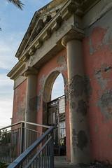 Manarola Cemetery (lncgriffin) Tags: manarola liguria cinqueterre italy italia europe europa cemetery architecture loculo italianriviera liguriancoast travel sony rx1r zeiss sonnar sonnar35mmf2