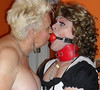 Marital Bliss (Mistress Tina And maid chastity) Tags: mistress sissy sissymaid maid malemaid malesub submissive dominated domination dominatrix slave bondage tgirl transsexual postoptranssexual transvestite crossdressed crossdresser crossdressing gag gagged ballgag ballgagged