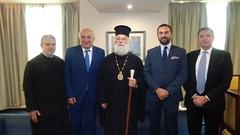 Συνάντηση Υφυπουργού Εξωτερικών, Γιάννη Αμανατίδη με τον Πάπα και Πατριάρχη Αλεξανδρείας και πάσης Αφρικής, κ.κ. Θεόδωρο Β'  (ΥΠΕΞ, 4.7.2017) (Υπουργείο Εξωτερικών) Tags: αμανατιδησ υφυπουργοσ υπουργειοεξωτερικων ελλαδα πατριαρχησ αλεξανδρεια θεοδωροσ β amanatidis mfaofgreece alexandria patriarch theodoros