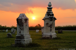 Tombstones at Dawn