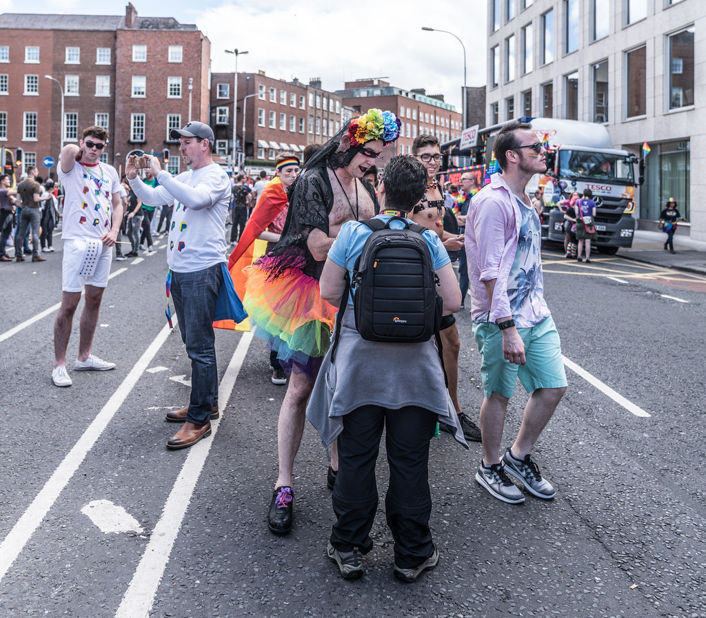 LGBTQ+ PRIDE PARADE 2017 [STEPHENS GREEN BEFORE THE ACTUAL PARADE]-129860