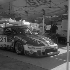 (Robert Ugroci) Tags: porsche motorsport bw medium format 6x6 kodak tmax100 expired flexaret v legend hillclimb german tlr 935