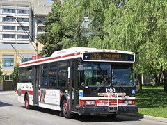 Toronto Transit Commission 1108 (YT | transport photography) Tags: ttc orion vii 7 bus toronto transit commission