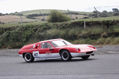 Clive Brandon in the HRCA Historic Sports Cars at Kirkistown, June 2017