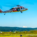 NAS Whidbey Island SAR Making A Pickup In A Hover