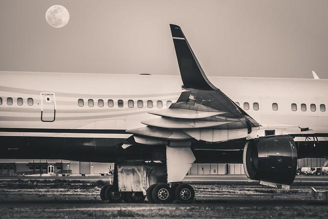 dismantling of US airways B757