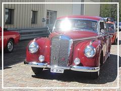 "Mercedes-Benz 300 ""Adenauer"" (W186) (v8dub) Tags: mercedes benz 300 w 186 schweiz suisse switzerland bleienbach german pkw voiture car wagen worldcars auto automobile automotive old oldtimer oldcar klassik classic collector"