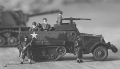 US M3A1 Half-track (lemcong91) Tags: hobby diecast modelcars military tank 1144 takara tomy toys us m3a1 m3 halftrack