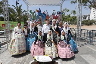 El President de la Generalitat, Ximo Puig, ha visitado Alicante con motivo de la festividad de las Hogueras. 24/06/2017