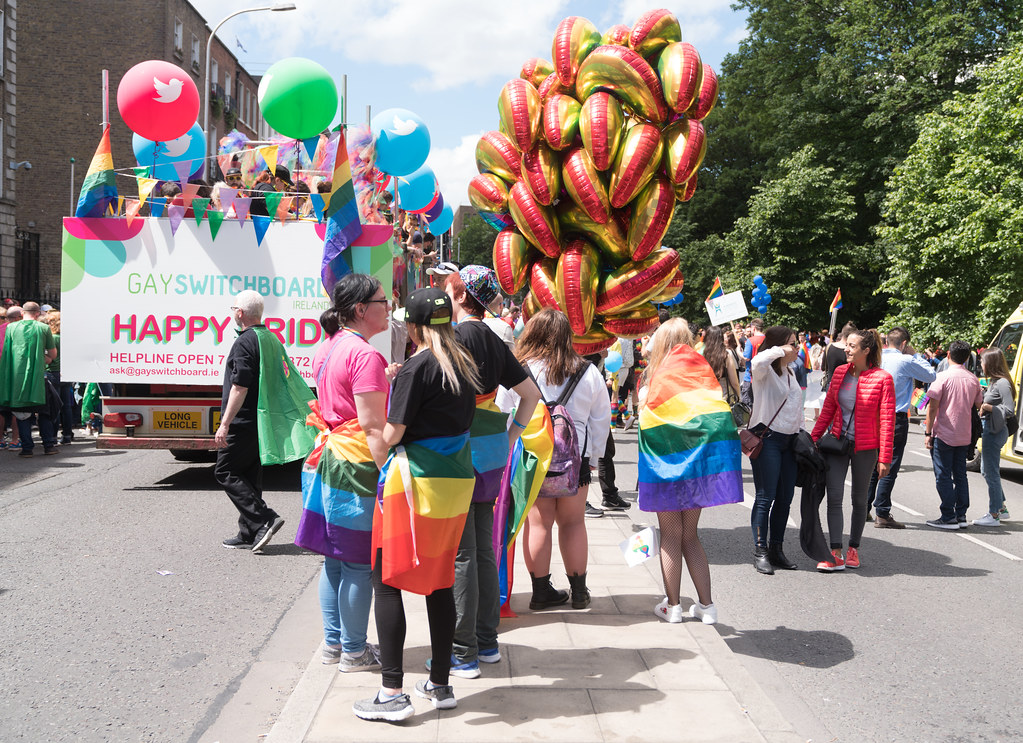 LGBTQ+ PRIDE PARADE 2017 [STEPHENS GREEN BEFORE THE ACTUAL PARADE]-129941