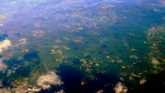 North of the Main (oobwoodman) Tags: aerial aerien luftaufnahme luftphoto luftbild germany deutschland allemagne cphgva landkreisgiesen mittelhessen hessen hesse raps rapeseed colza canola