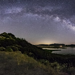 The Milky Way Arch Over Lake Henshaw thumbnail