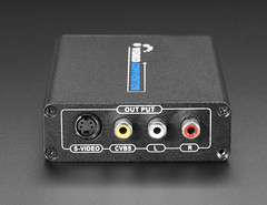 HDMI to RCA Audio and CVBS NTSC, PAL, or S-Video Converter (adafruit) Tags: 3537 cables audio video converter adapter hdmi rca cvbs ntsc pal svideo