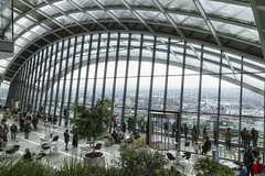 Sky Garden (Gary Burke.) Tags: skygarden observationtower observationdeck tower view glass windows window touristattraction tourism travel vacation canoneos70d canon eos 70d dslr citylife cityliving urban city wanderlust traveling london england uk unitedkingdom greatbritain gb klingon65 english british europe european skyscraper skyline cityscape londonskyline urbanphotography travelphotography walkietalkietower architecture 20fenchurchstreet