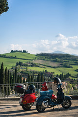 DSC_0609.jpg (saladino85) Tags: view tuscana tuscany scenery sunset scenic italy two hills vespa holiday landscape