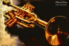 Fear the Trumpet (Mambo'Dan) Tags: trumpet artisticphotography photocreativity photopainting stillphotography