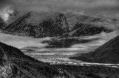 Cloudy (tpeters2600) Tags: alaska mantanuskaglacier blackandwhite monochrome landscape outdoors canon eos7d gakona tamronaf18270mmf3563diiivcldasphericalif hdr photomatix shadowsandlight